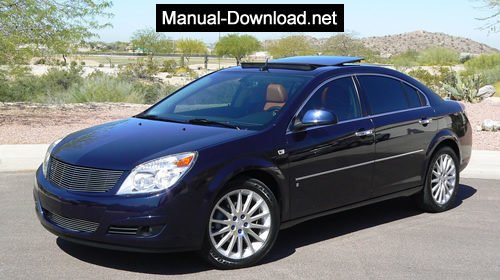 2007 saturn aura xe shop manual