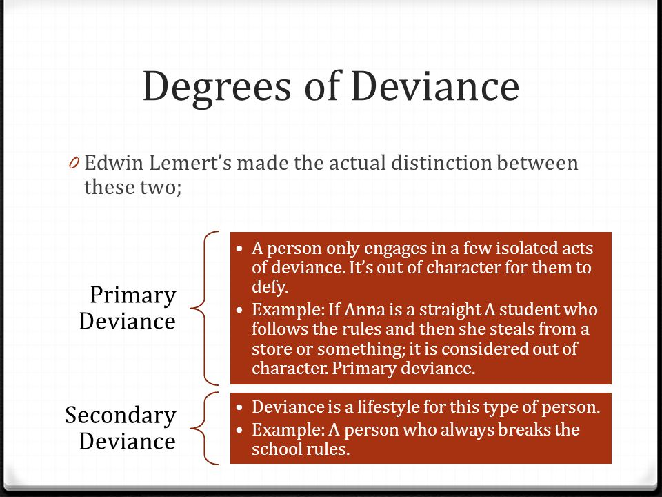5 theories of deviance pdf