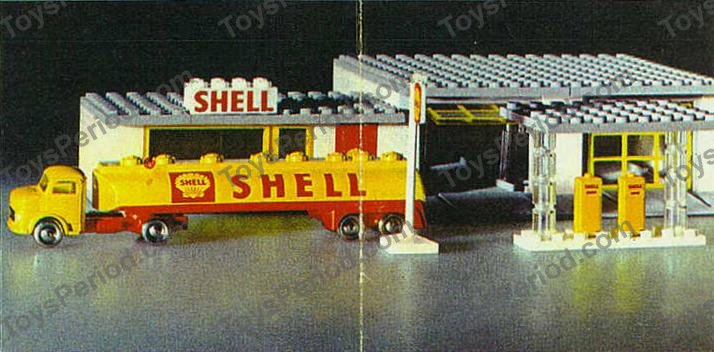 lego instructions shell service station