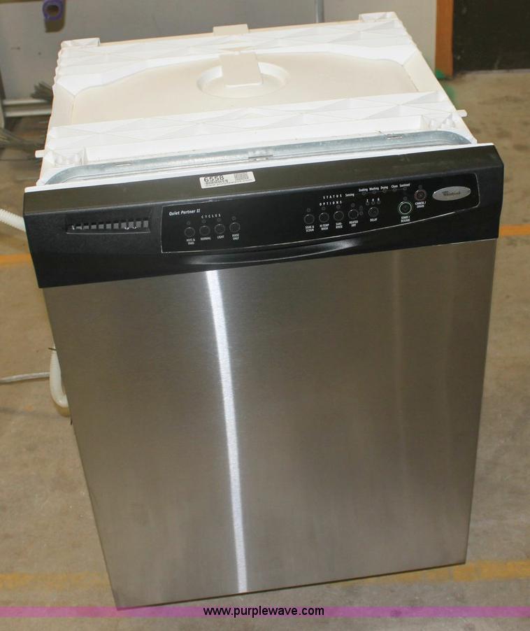 quiet partner 2 whirlpool dishwasher manual