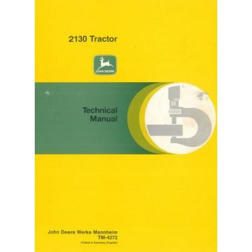 john deere 2130 workshop manual