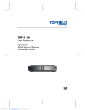Topfield trf 7160 user manual