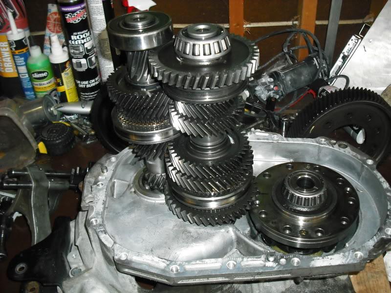 mitsubishi eclipse manual transmission rebuild kit