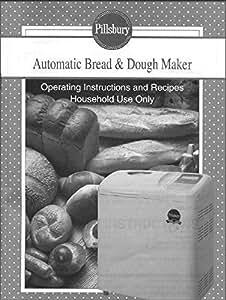 Pillsbury bread maker 1021 manual