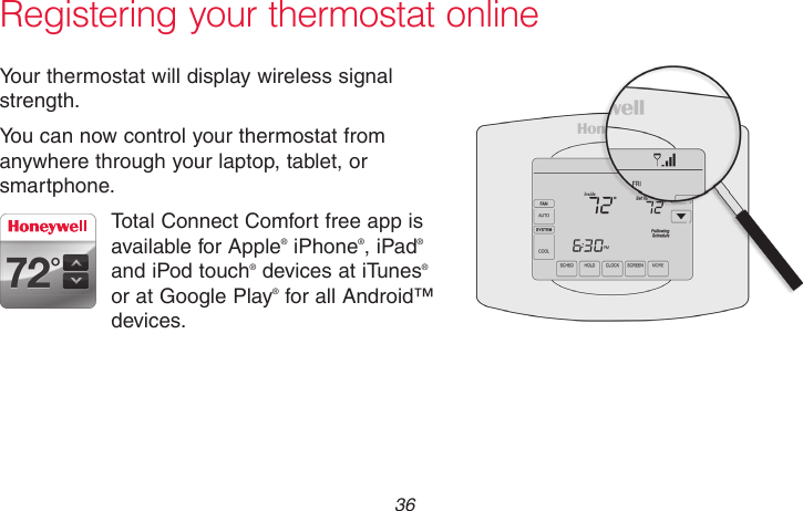 honeywell wifi thermostat rth8580wf installation manual