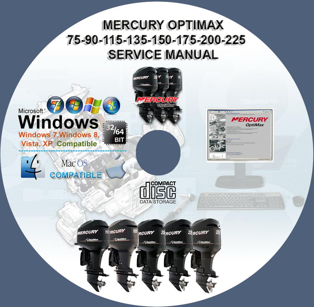 mercury optimax 75 service manual