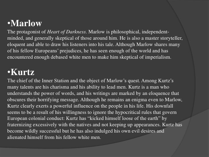 Character of marlow in heart of darkness pdf