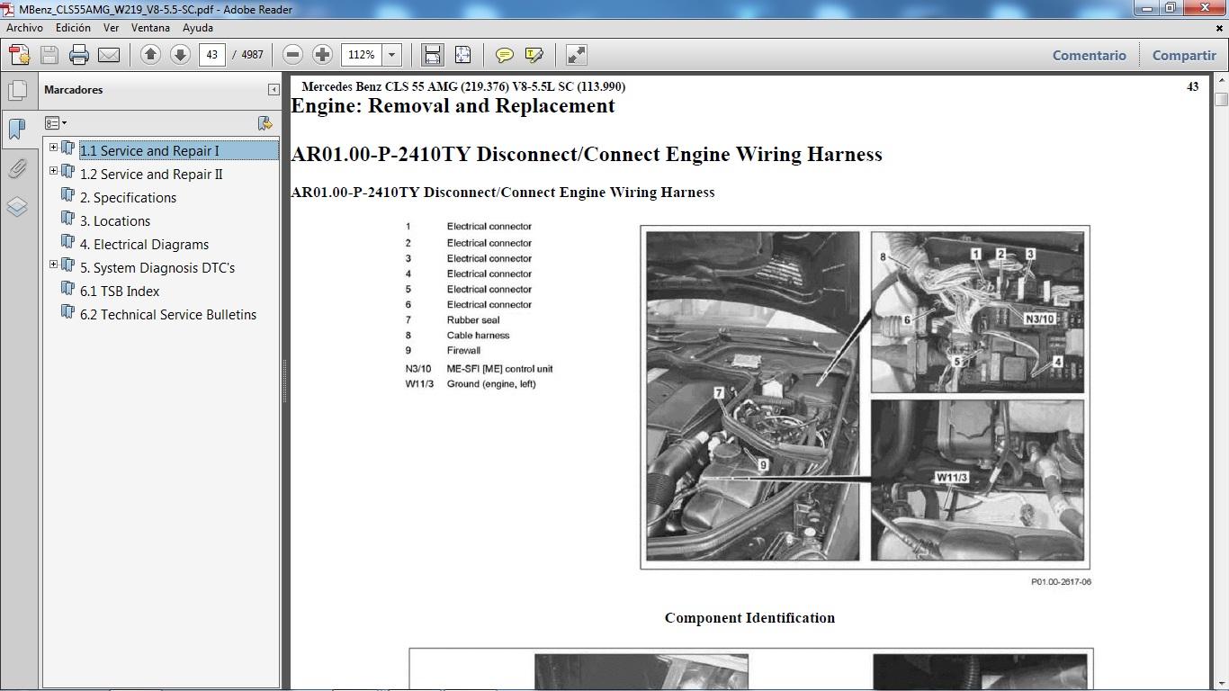 mercedes w203 service manual pdf