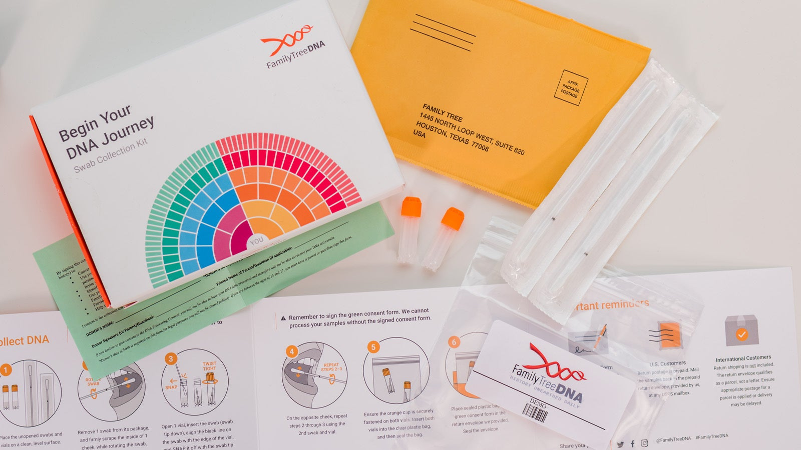 ancestry dna kit instructions