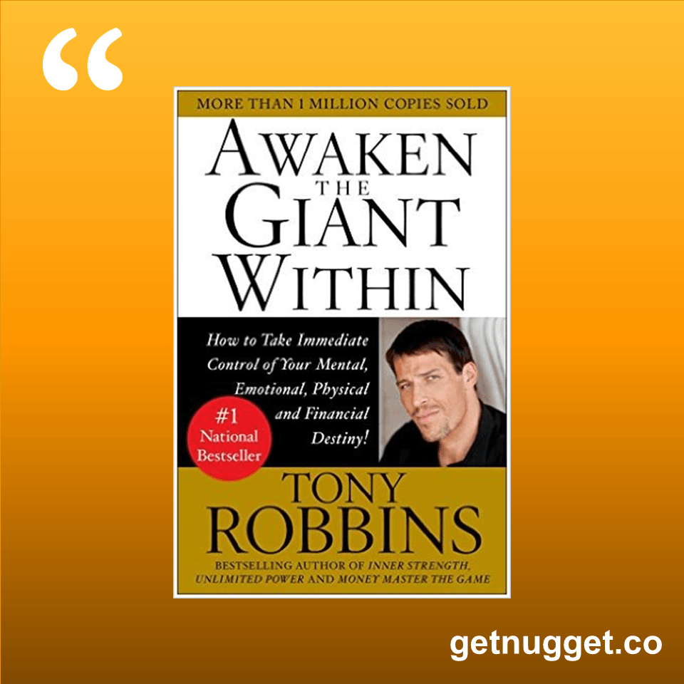 Anthony robbins giant steps pdf