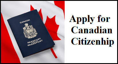 Application for canadian citizenship immigration