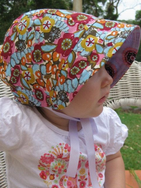 Baby bonnet sewing pattern pdf