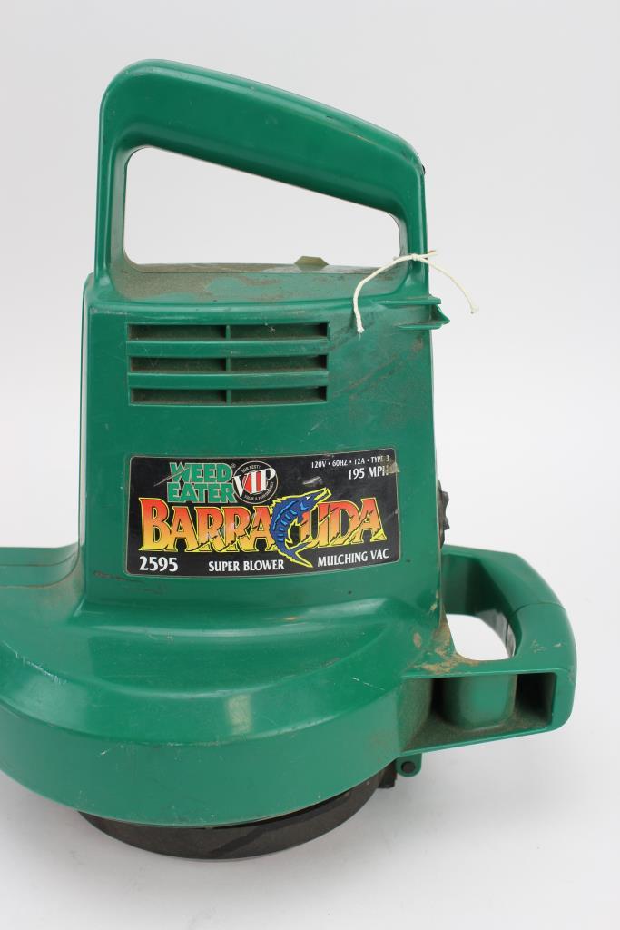 Barracuda super blower mulching vac manual