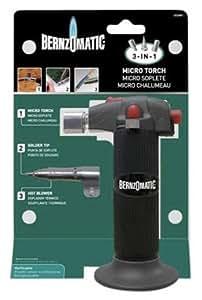 bernzomatic butane torch refill instructions