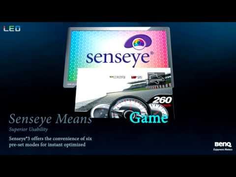 Benq senseye 3 led monitor manual
