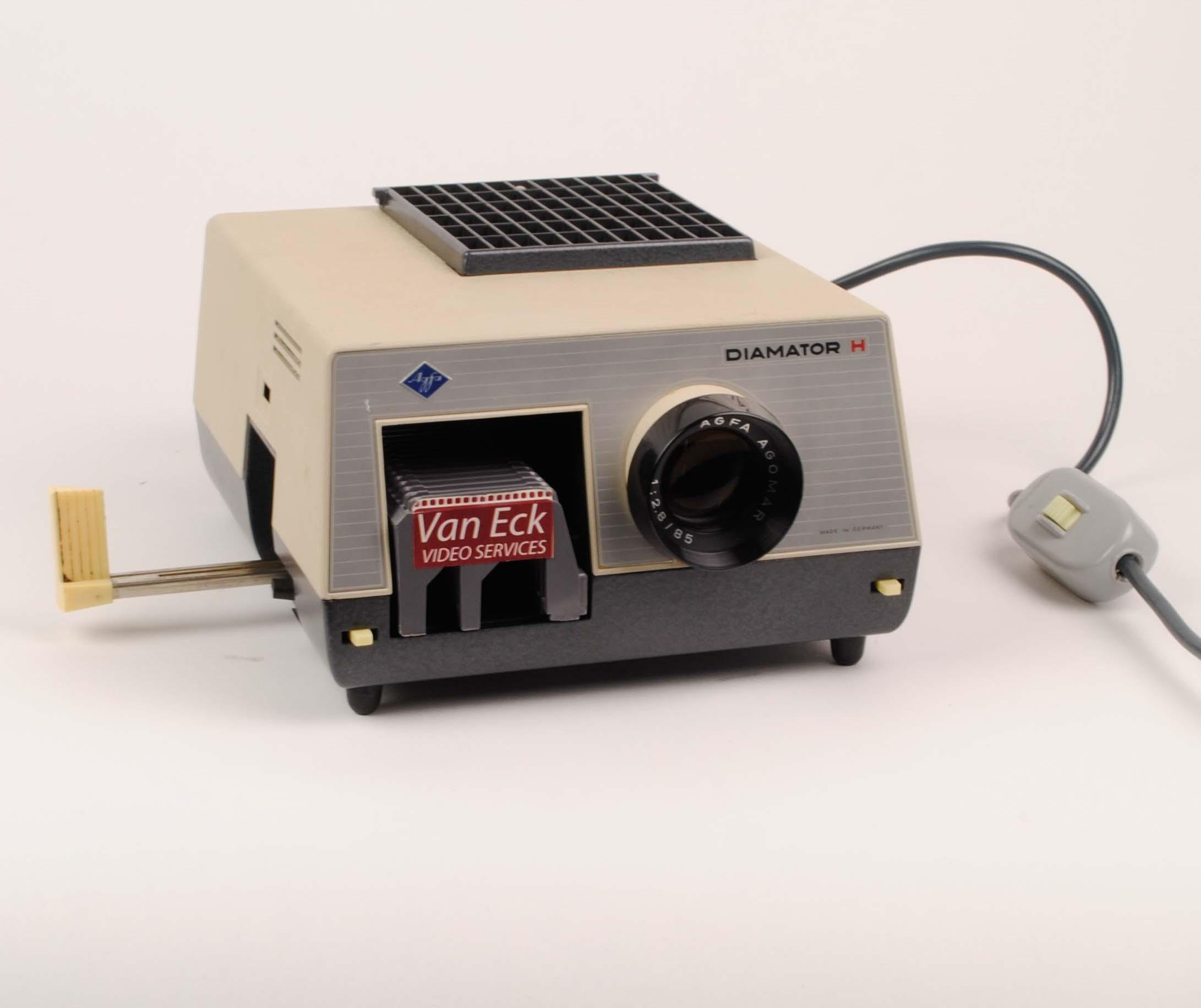agfa diamator 1500 slide projector instructions