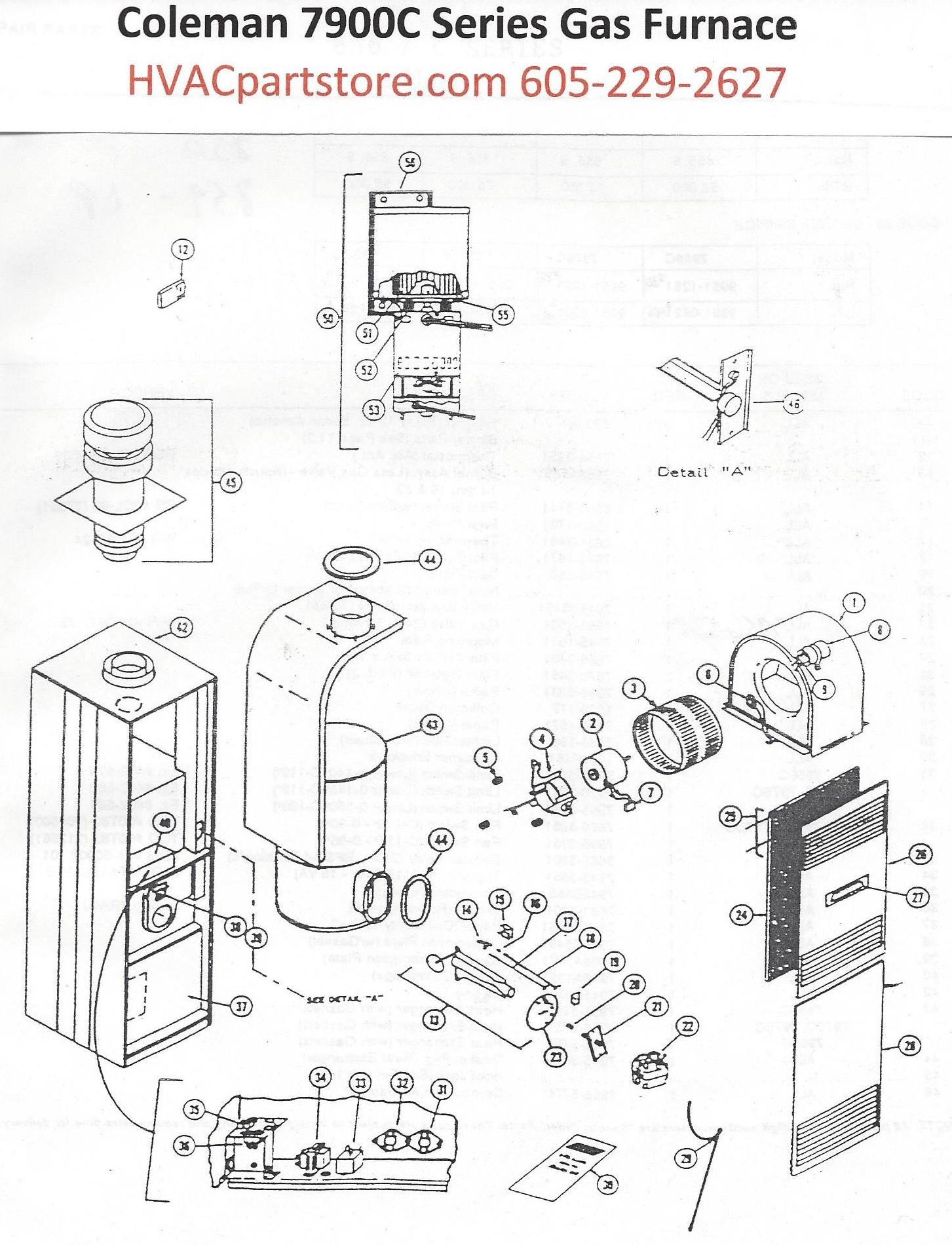 Coleman gas mobile home furnace manual