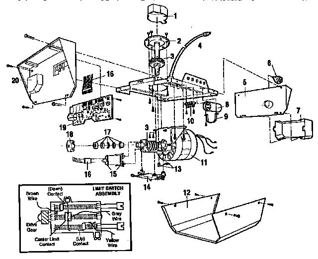 Craftsman garage door opener model 139.539 manual