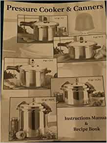 crofton pressure cooker instruction manual