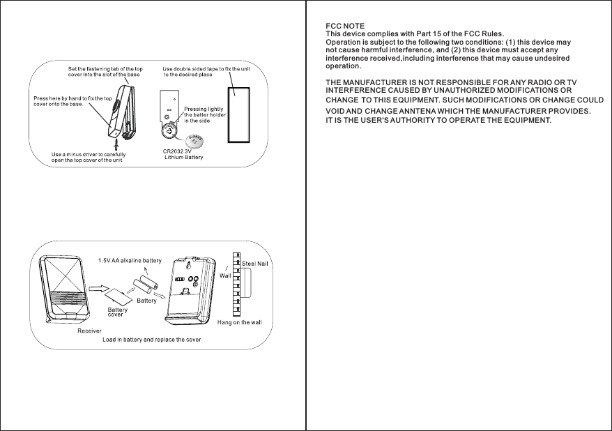 Delta wireless doorbell user manual