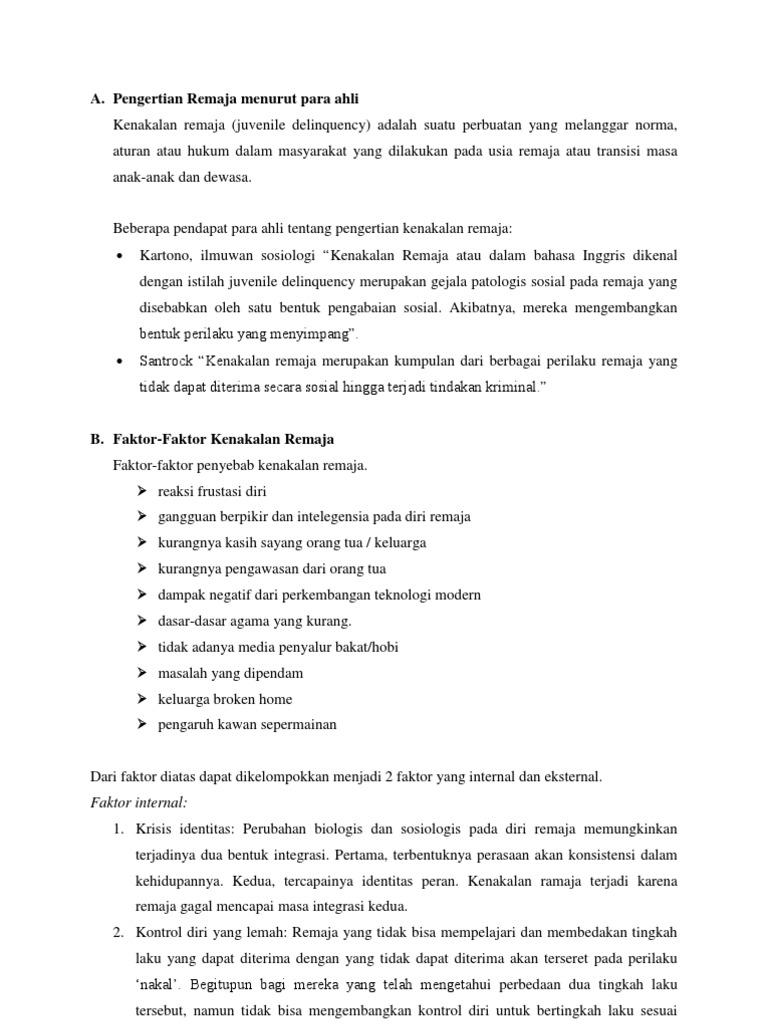 Pengertian karakter menurut para ahli pdf