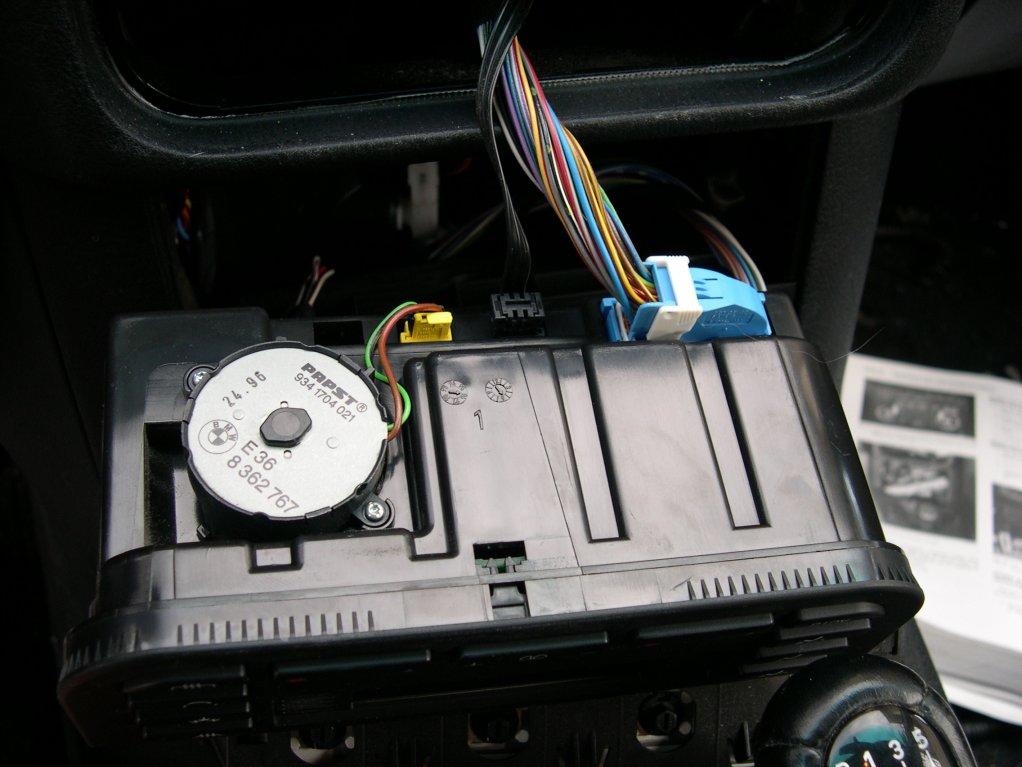 E36 manual climate control repair