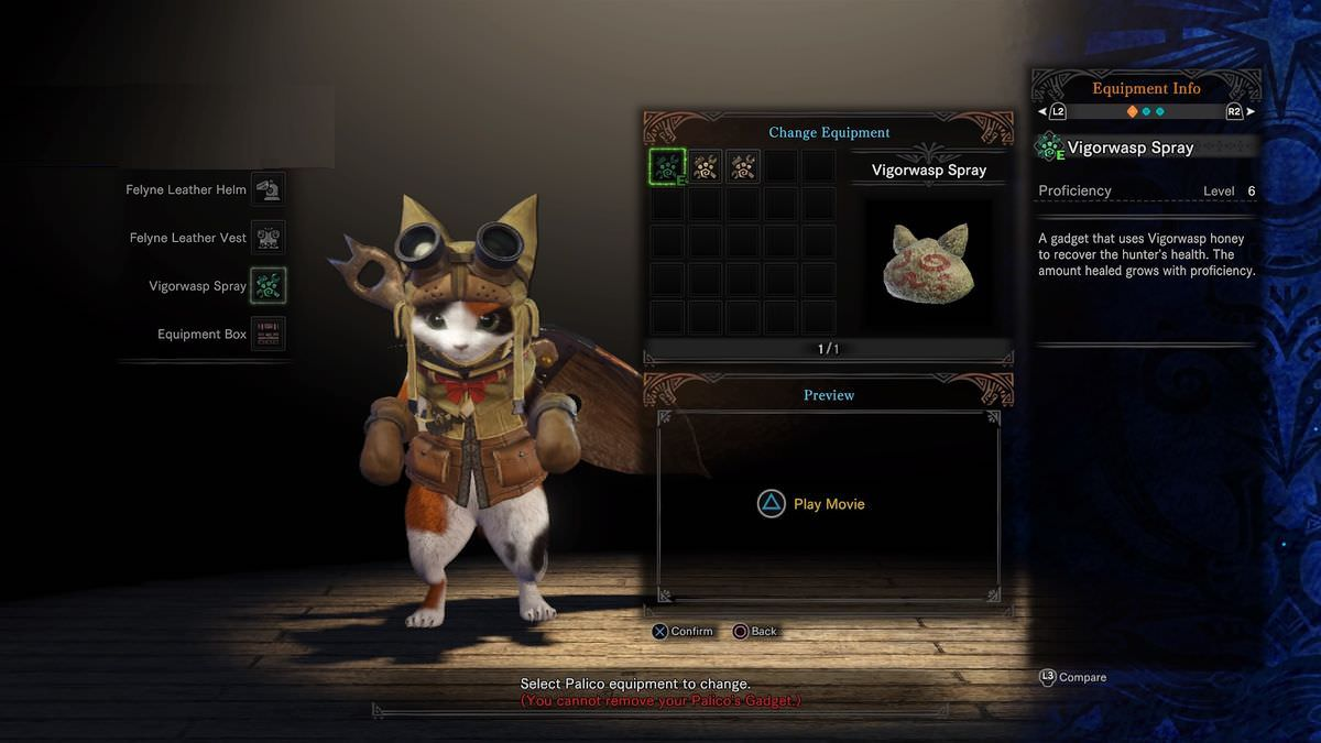 Mhw guide to trap palico