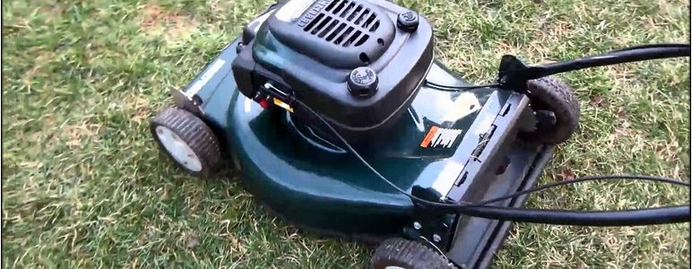 Eager 1 lawn mower manual