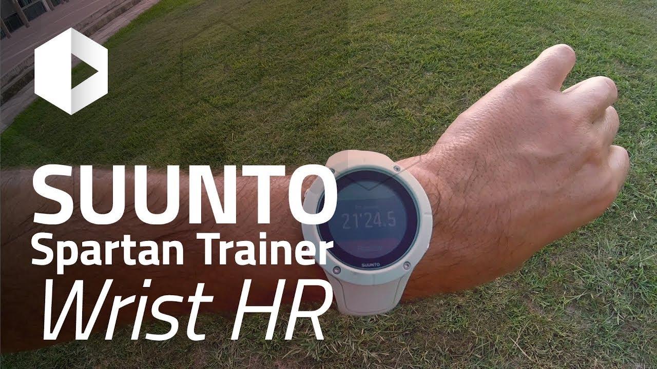 suunto spartan trainer wrist hr manual