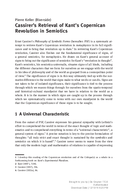 Ernst cassirer the philosophy of the enlightenment pdf