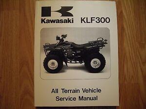Kawasaki bayou 300 shop manual pdf