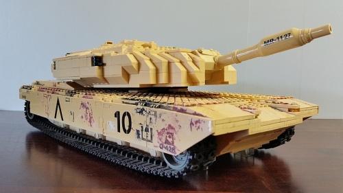 tank mega bloks 9724 instruction