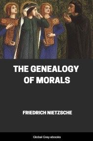 Nietzsche genealogy of morals pdf