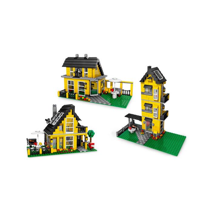 lego 4996 beach house instructions