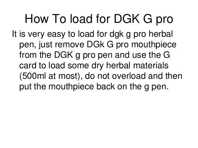 g pro herbal vaporizer user manual