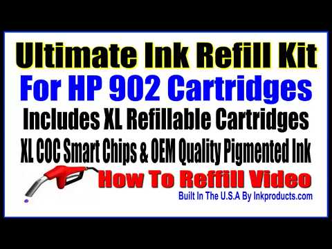hp 902 refill instructions