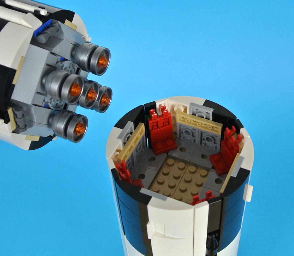 instruction skylab saturn v lego