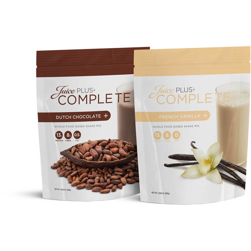 juice plus complete shake instructions