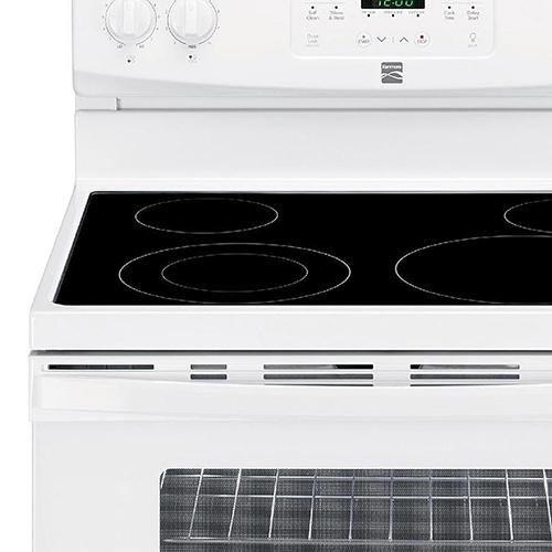 kenmore stove manual self cleaning