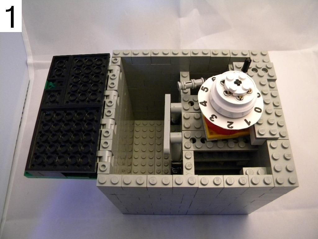 lego combination safe instructions