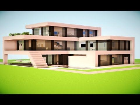 Minecraft luxury mansion tutorial