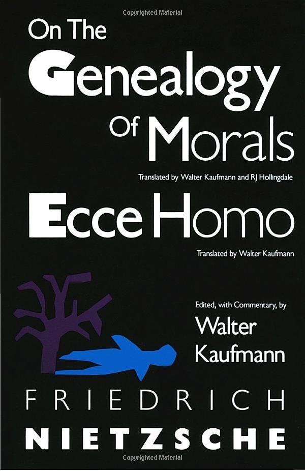 Nietzsche genealogy of morals pdf
