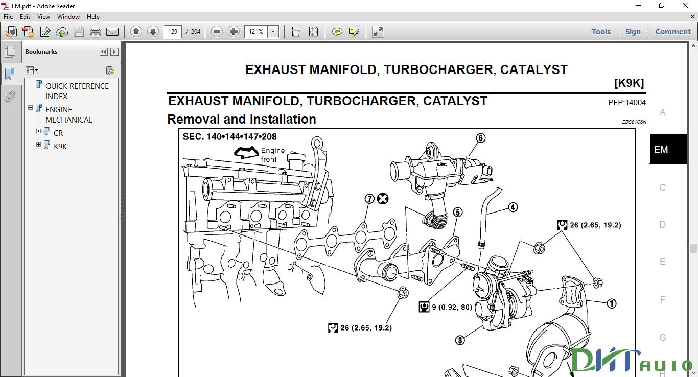 Nissan Micra K12 Workshop Manual Pdf