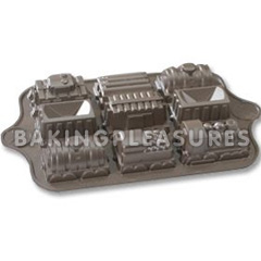nordic ware train cake pan instructions
