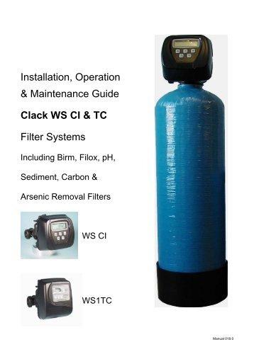 novatek logic water softener manual