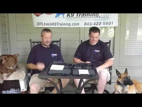 off leash k9 training e collar manual