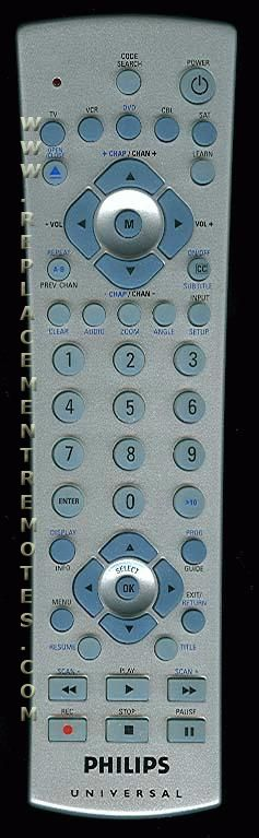 philips universal remote instructions cl015