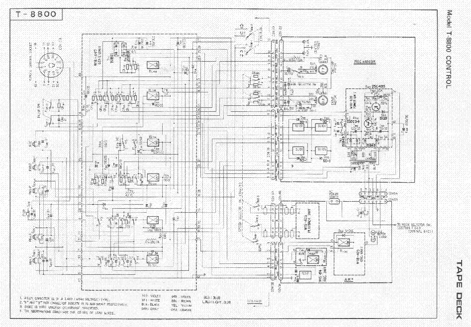 pioneer sa 8800 ii service manual