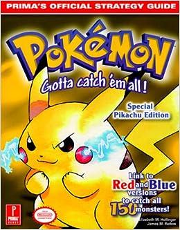 pokemon red game manual pdf