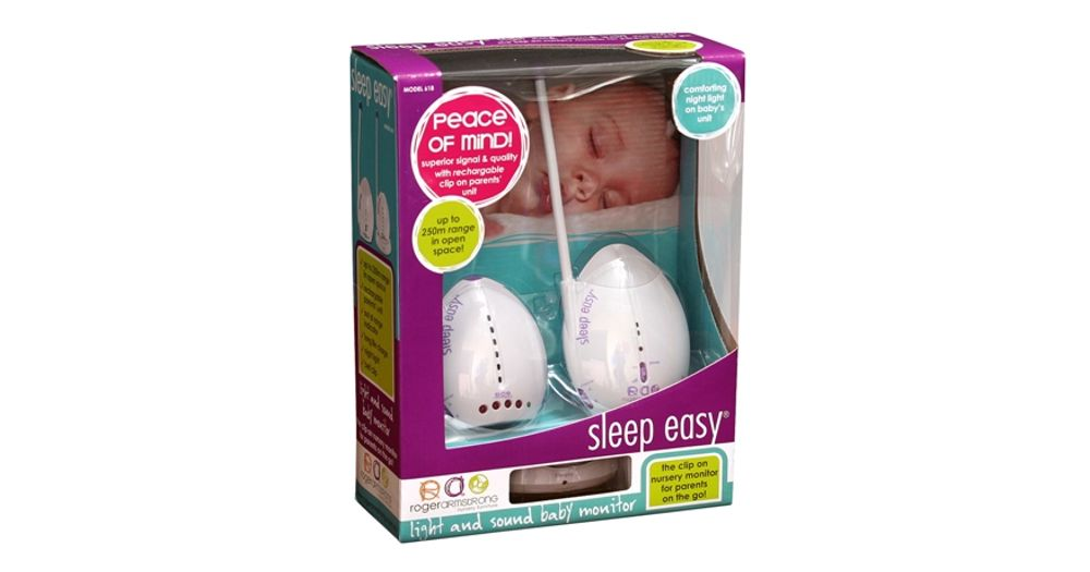 Roger armstrong sleep easy baby monitor instructions